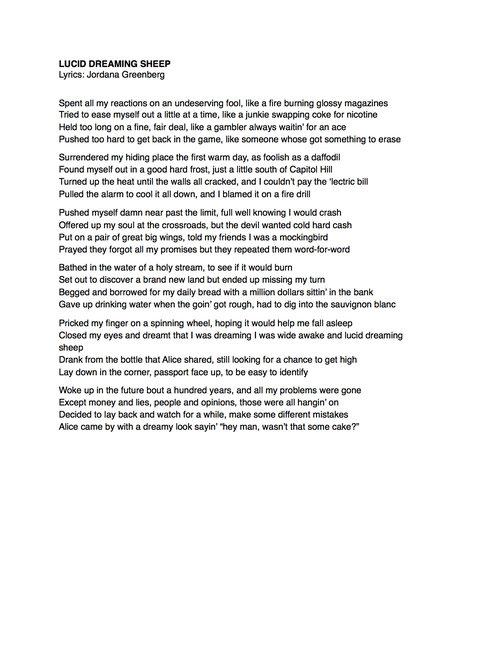 Lyrics Harpeth Rising