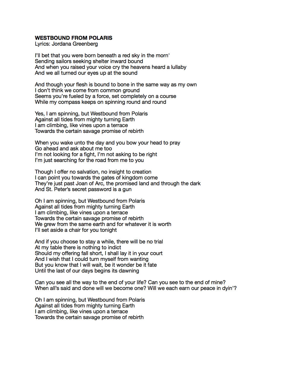 Westbound from Polaris Lyrics.jpeg