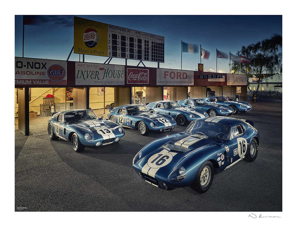 Daytona Coupes, Goodwood Revival