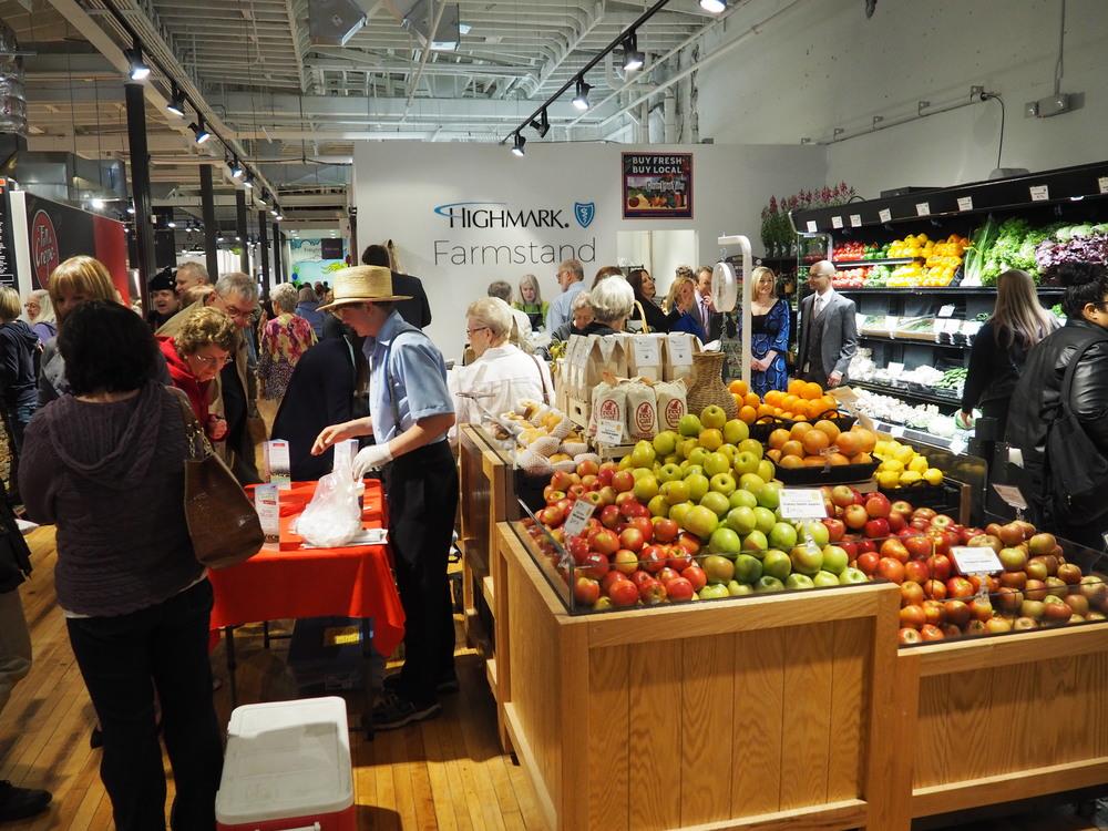 Highmark Blue Shield Farmstand in Easton Public Market (lehighvalley.org)