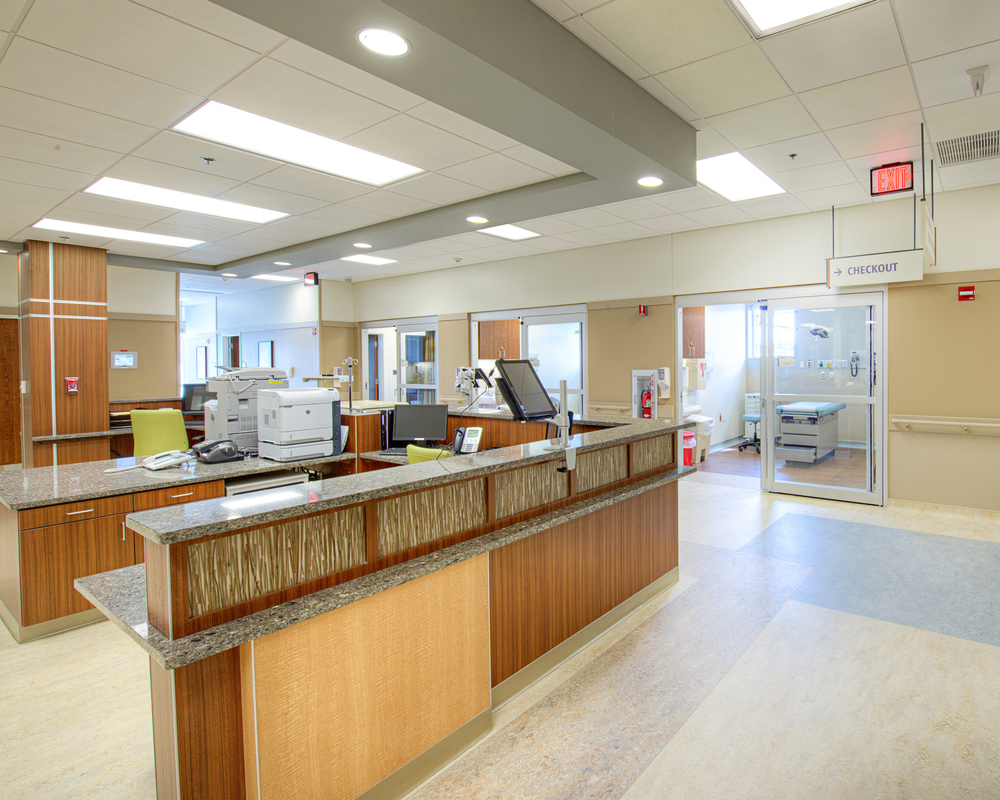 Nurse Station & Exam Room