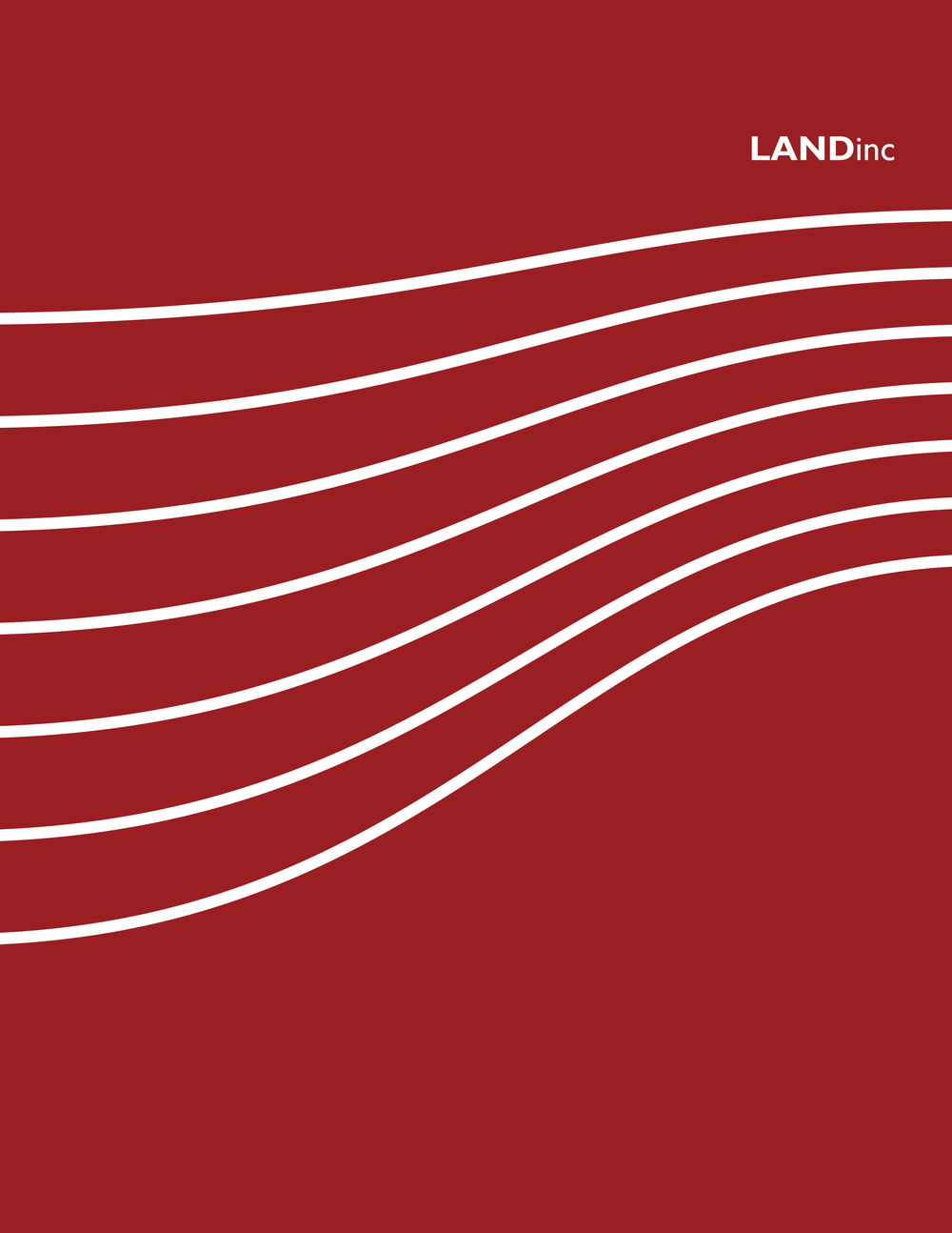 LANDinc: Documented Projects  1999 - 2010 Paperback: 216 pages