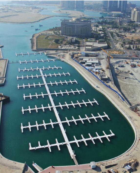 AL BATEEN WARF Waterfront Master Plan / Landscape Architecture Al Bateen, Abu Dhabi, UAE