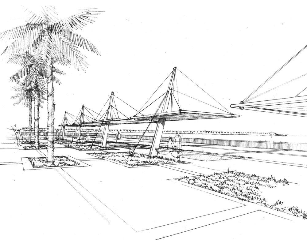Abu Dhabi Corniche- Sketch-01.jpg