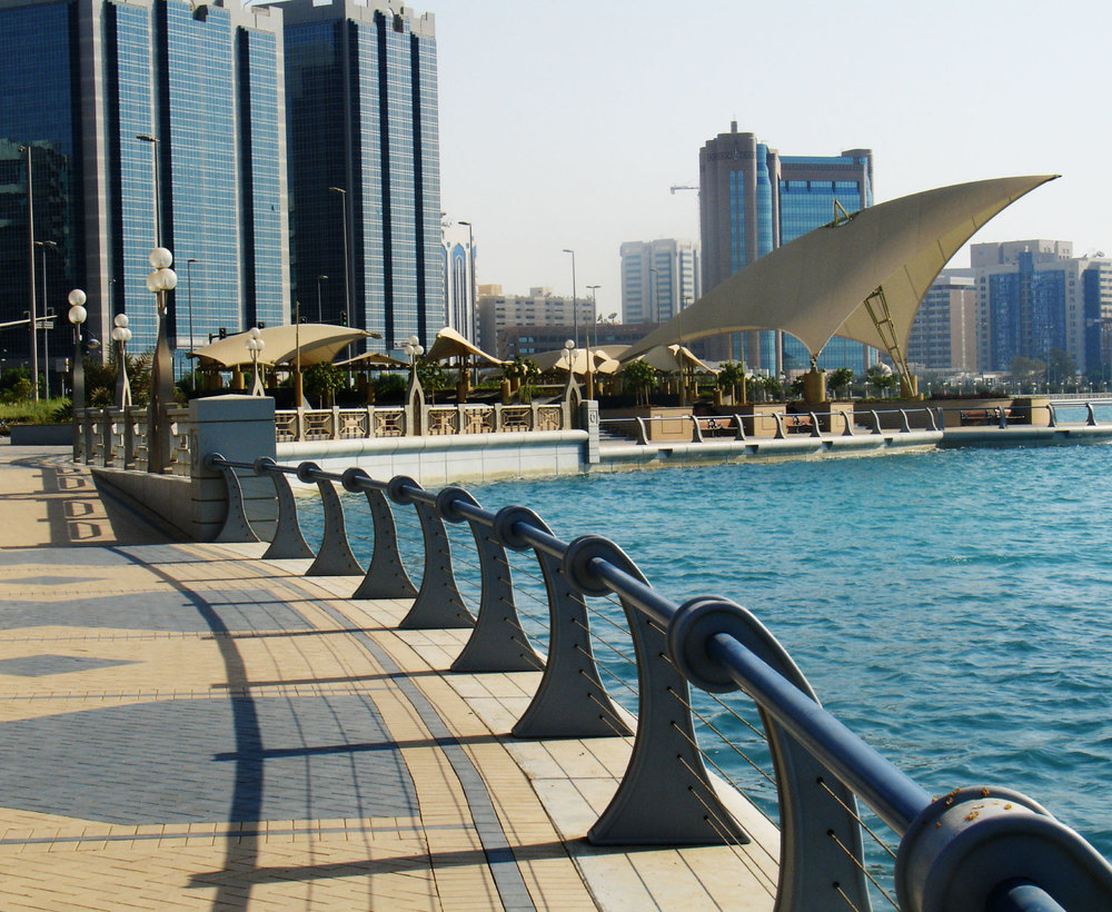 Abu dhabi corniche landinc for Hispano international decor abu dhabi