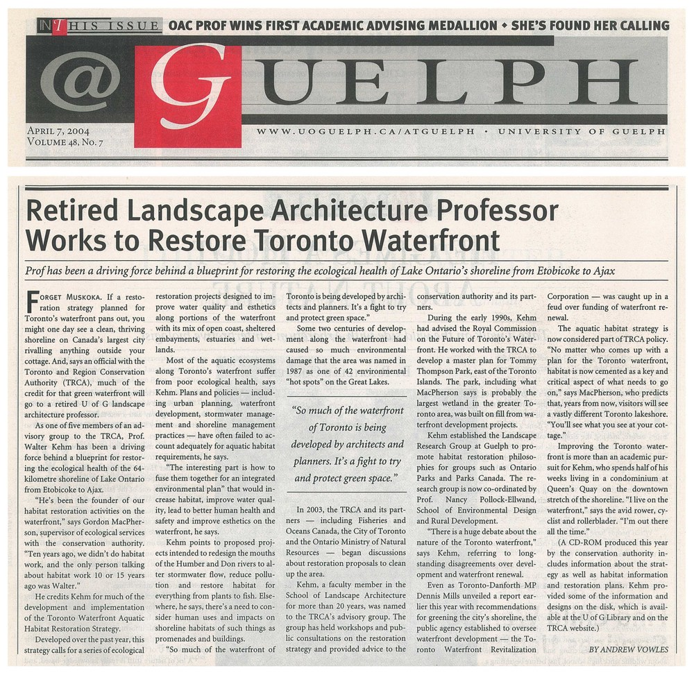 @guelph article-april 2004.jpg
