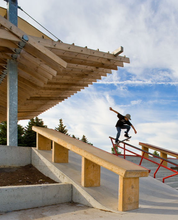 CHINGUACOUSY SKATEPARK    Sport Design   Brampton, ON, Canada