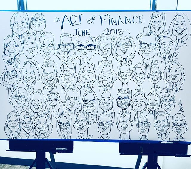 43 caricatures all drawn on one piece in under 2.5hrs . . . . . . .  #caricatures #caricature #drawing #draw #art #marker #instaart #instagood #instaphoto #daily #sketch #illustration #seattleart #seattle  #overthelineart #seattlecaricatures #photooftheday #cartoon #bestoftheday #ink #gallery #cute #humor #fun