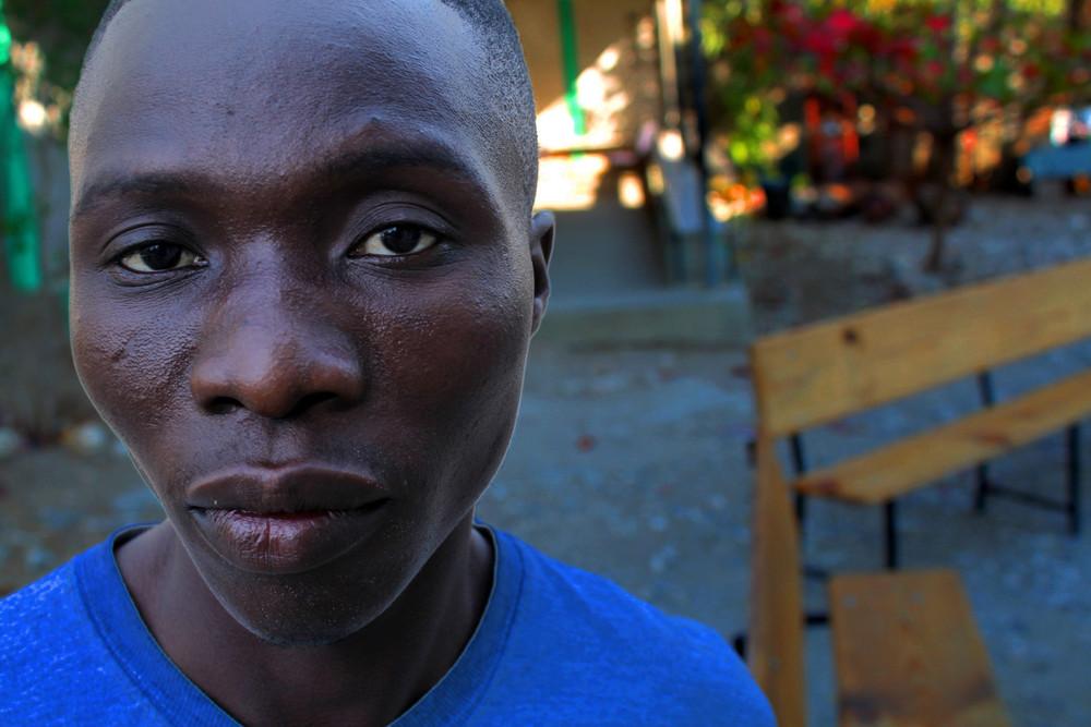 #19 - Haiti in Blue