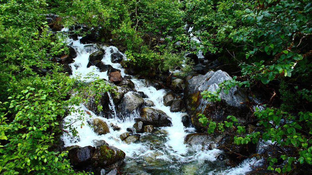 #25 - Juneau Waterfall