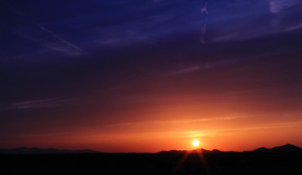 #35 -- Desert Sunset