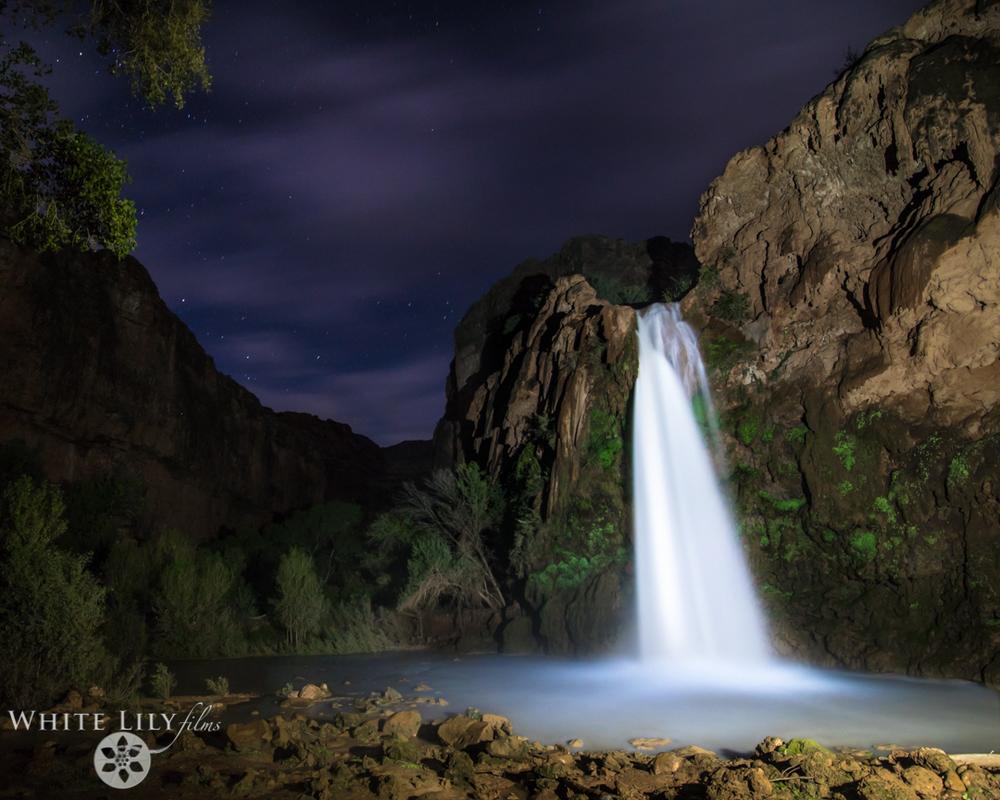 #144 - Havasu Falls, Night.