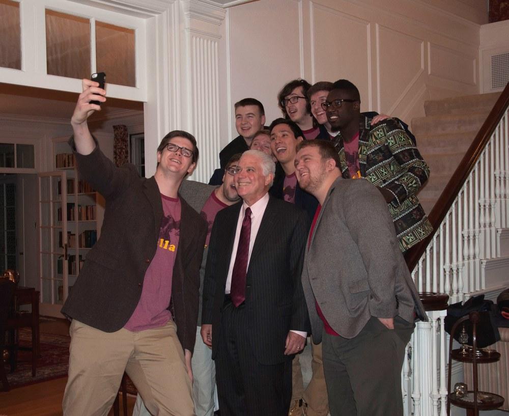 selfie w Pres Harrison.jpg