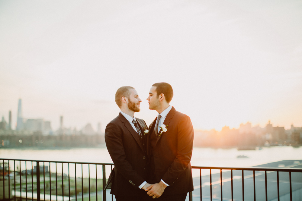 Wythe Hotel Wedding//Kurt+Kyle