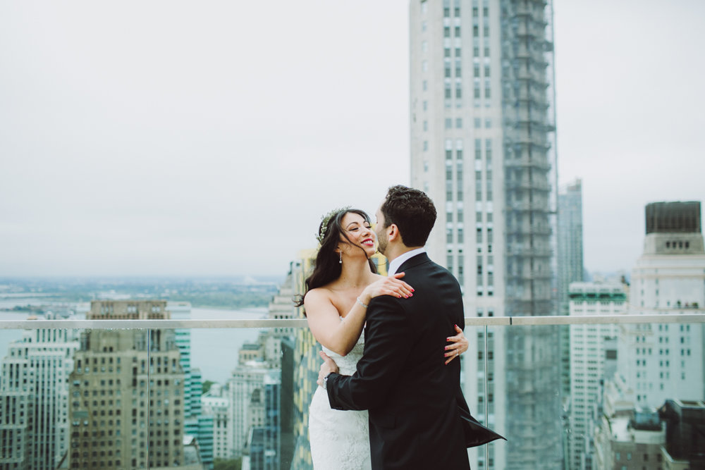 Battery Gardens Wedding//Adam+Diana