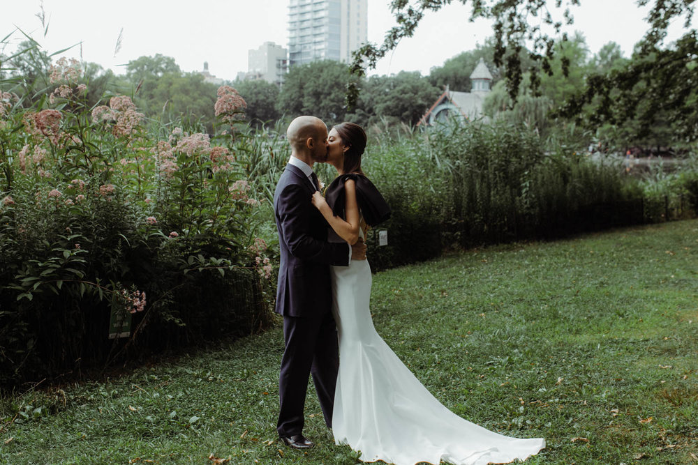 Conservatory Gardens Wedding//Maria+Davide