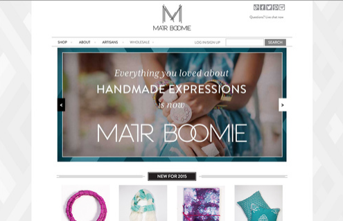 AFTER : MATR BOOMIE Homepage