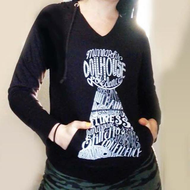 Dollhouse Pole Dance Studio T Shirt Design