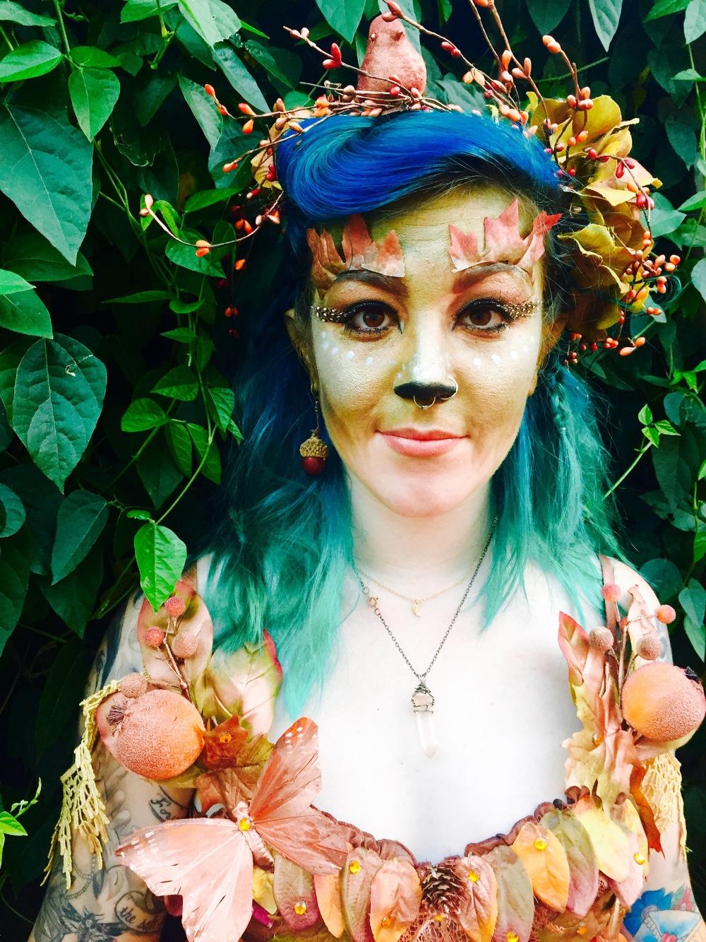 Labyrinth-of-jareth-woodland-elf-fairy-makeup