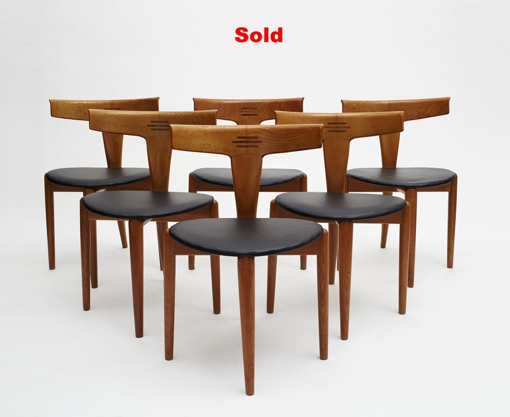 Kurt Östervig Chairs, Denmark