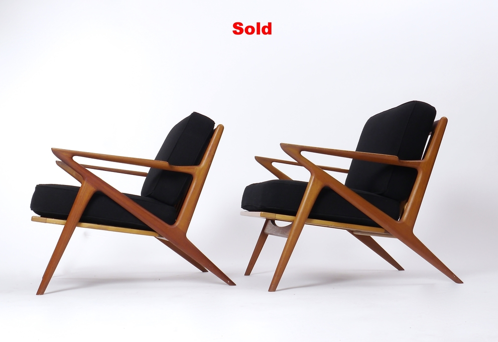 Attrayant A Pair Of Poul Jensen Z Chairs