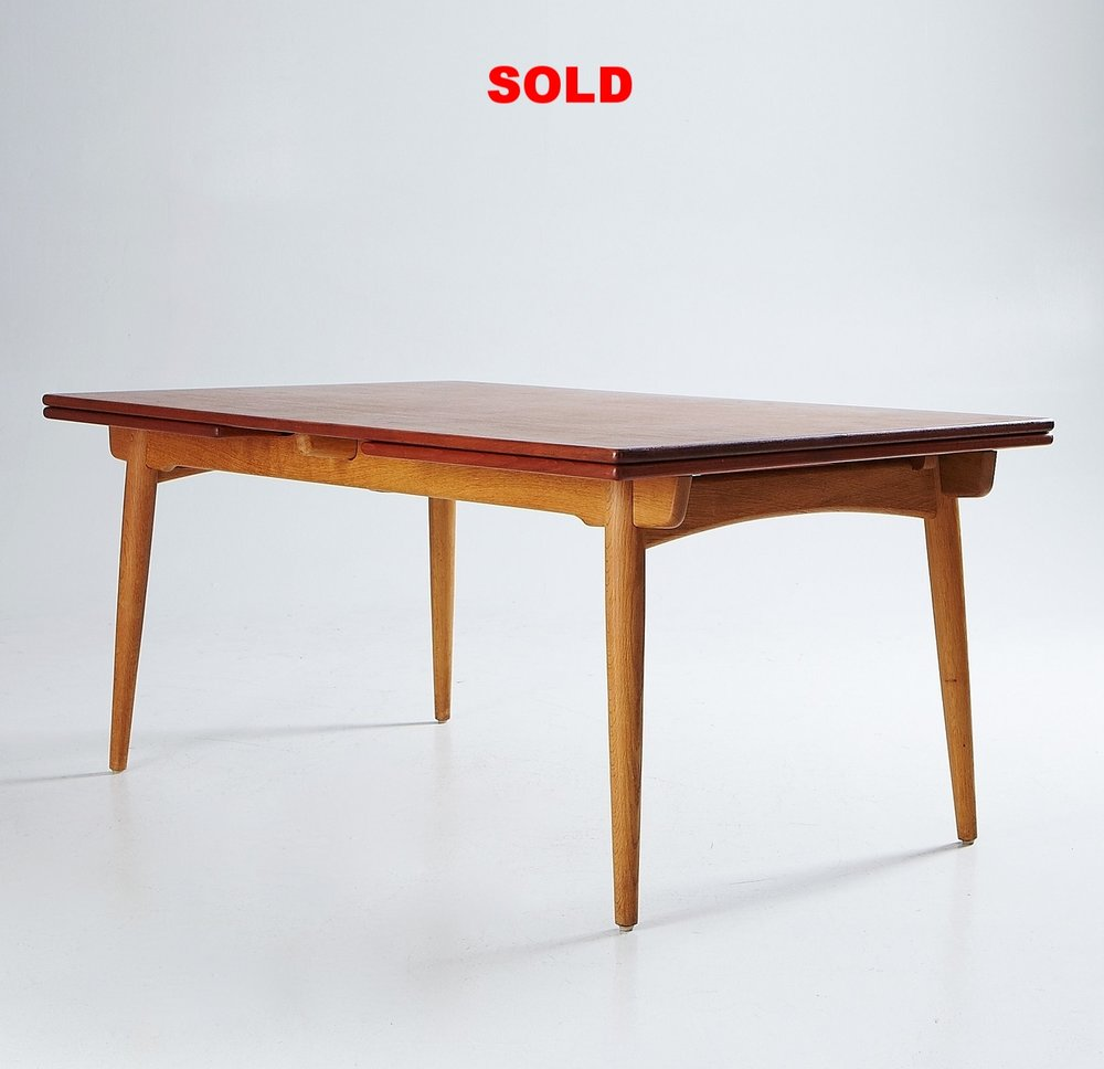 hans j wegner dining table at 312 xl size