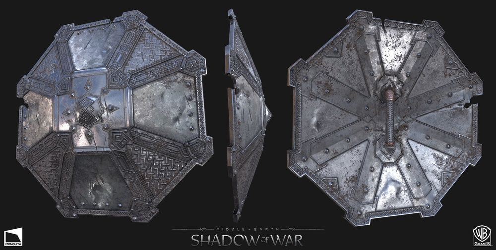 Dwarven Shield Artifact