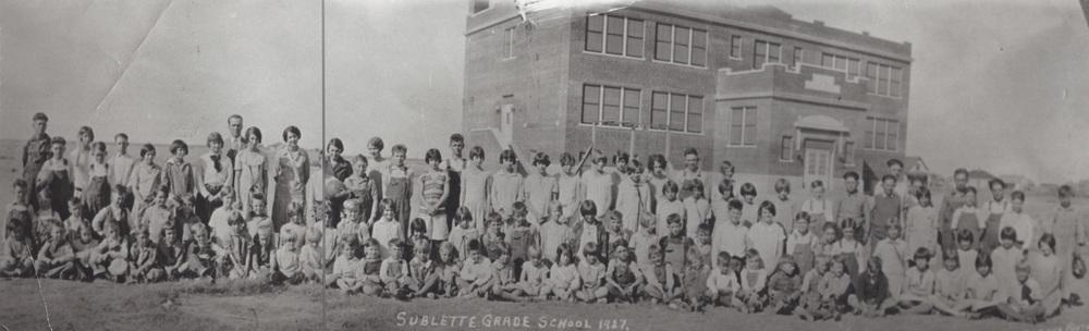 Sublette Grade School, 1927