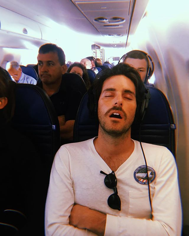 It is not safe to sleep on planes