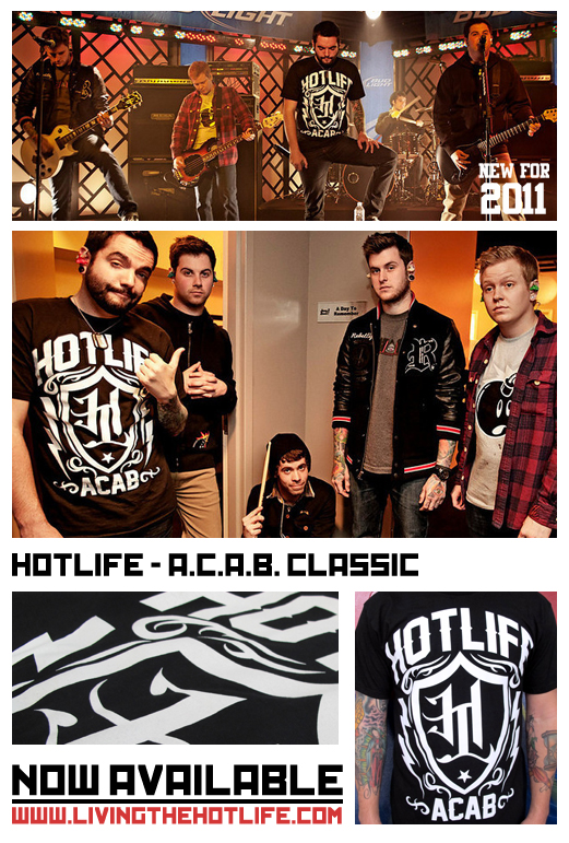 Everyones been going crazy about the Limited Edition HOTLIFE - ACAB CLASSIC since the day it came out. It sold out almost immediately, and so I brought it back for the guys that couldn't grab one fast enough. Back in stock! ALL SIZES. Get into it. This shirt is AWESOME.