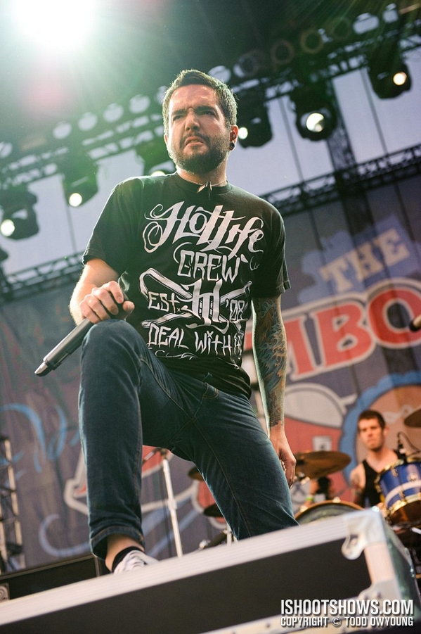 Just came across this some pictures of A Day To Remember sporting HOTLIFE at Bamboozle 2011. Check out the pics of our brother Jeremy McKinnon in the HOTLIFE Crew design. On sale at:   www.livingthehotlife.com   Check out A Day To Remember at:   www.facebook.com/adtr