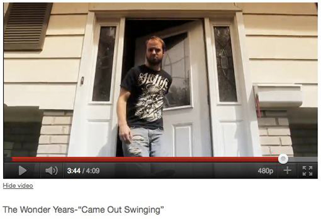 "We were stoked to see our friends The Wonder Years new video, and even more excited when we saw Soupy, (the singer) repping HOTLIFE - ""GYPSY"" T in the video juuussstt before getting drenched by a prankster with a garden hose. Check out the video HERE."