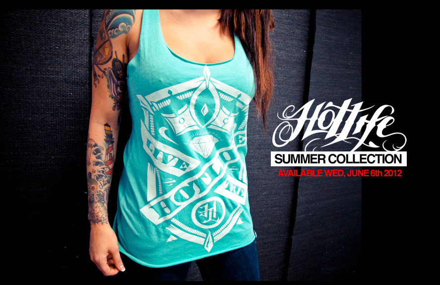 June 6th we will be releasing our HOTLIFE Summer collection. All kinds of new stuff for men and ladies and we're incredibly excited for it! Heres a sneak peek of one of our new ladies summer tanks. If you like what you see, check us out. We're an independent clothing company putting out high quality, hand made apparel from sunny South Florida, USA. Please repost if you can, we really appreciate it. :)
