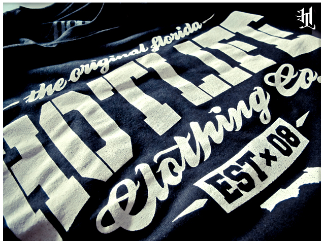 "HOTLIFE ""The Original"" Back in stock! Low key, traditional style type for a timeless appeal. Features ultra soft waterbased ink, printed by hand on high quality ring spun cotton. Pick one up at http://hotlife.bigcartel.com/product/released-today-hotlife-the-original"