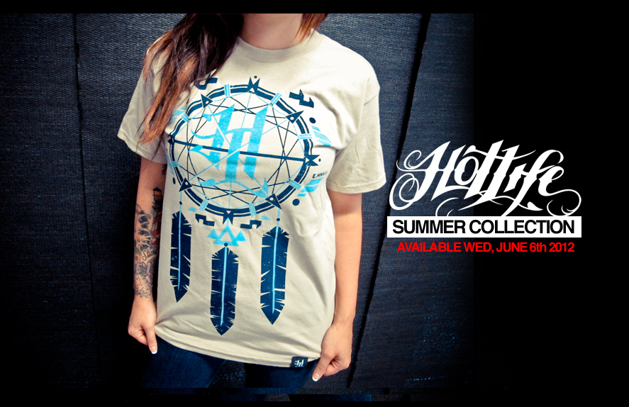 "SNEAK PEEK: THE HOTLIFE ""Dreamcatcher"" T will be available with the JUNE 6th Summer Collection Release. Available in sizes S - XXL and is on a high quality ultra soft T perfect for guys and girls. Please repost if you like it. Were very excited for the new releases!  www.livingthehotlife.com"