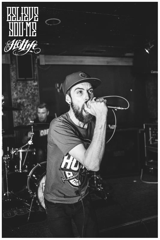 Check out Taylor of Believe You Me representing HOTLIFE Clothing live! So stoked to have such rad bands, as part of the HL Crew. If you like classic pop punk that doesnt sound like a middle school band you'll love em.  Check em out here: www.facebook.com/bymjamz