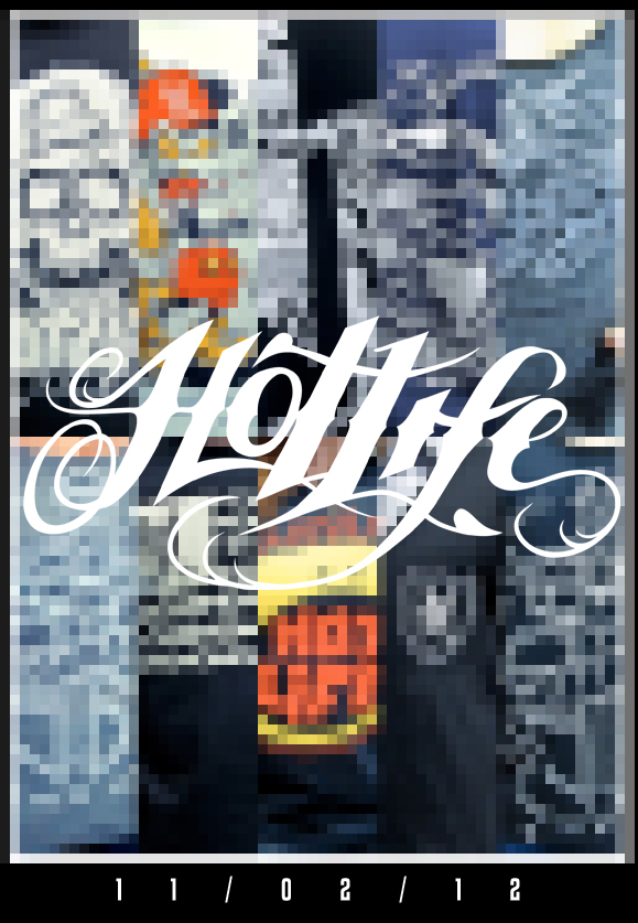 I know this doesn't give away too much but heres a little teaser for the HOTLIFE Fall Collection. Release date 11/02/12. Get excited. We'll post more previews and info as we get closer to the release date. Spread the word.
