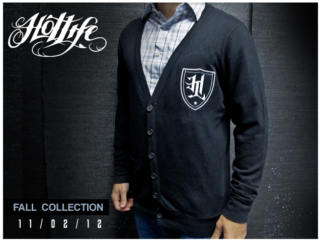 "SNEAK PEEK! HL FALL RELEASE will have the limited edition HL ""CLASSIC CARDIGAN"". High end, ultra soft, unisex cardigan, features embroidered HL crest.  Absolutely ideal for the Holiday season and special events. Dress up without wearing the same old chump threads from last year."