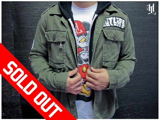 "The HOTLIFE ""HL ARMY"" Custom Jacket is officially SOLD OUT in ALL sizes. Thanks to everyone who has been checking out our Fall Collection. We still have other AWESOME limited edition designs still available. Highest quality, super collectable, and priced right. Check out our stuff: www.livingthehotlife.com"