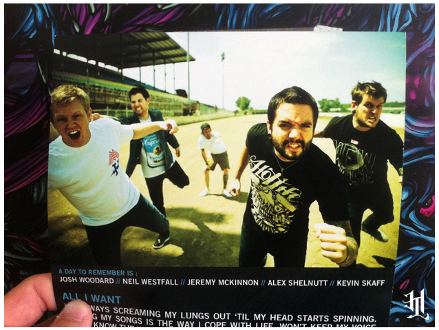 "Stoked! The New ADTR 7inch Single ""All I Want"" features Jeremy McKinnon representing HOTLIFE. Check it out!"