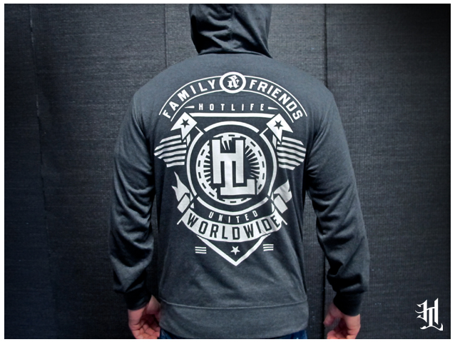 "We recently release our #HOTLIFE ""FAMILY"" light weight hooded long sleeve and we're very excited to put it up as our release of the week. Its incredibly comfortable ring spun cotton with all waterbased specialty printing. Check it out at:  www.livingthehotlife.com/store"