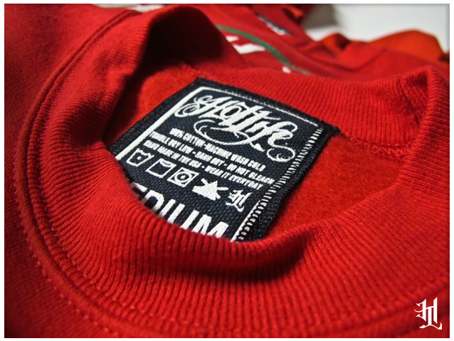 "The #HOTLIFE ""Ugly Xmas"" Sweaters are top notch quality, custom sweatshirts, and are gonna be a hit at all Xmas parties this year. We've seen the knock offs, and they are lame. Look for the custom tags for the AUTHENTIC HOTLIFE gear. www.livingthehotlife.com"