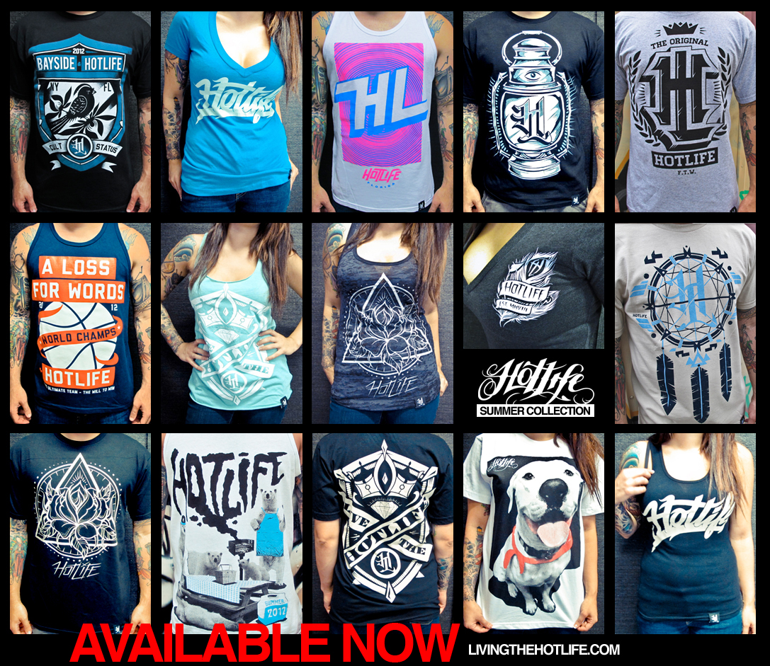 JUST RELEASED 15 NEW HOTLIFE design for the new Summer Collection. Check em out here. www.livingthehotlife.com