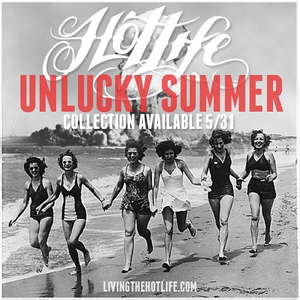 #HOTLIFE #unluckysummer #collection release is right around the corner. #repost #hotlifecrew #streetwear #summer #clothingbrand #florida #miami #orlando #punk #hardcore #style #fashion #bmx #design #art #handmade #authentic #real