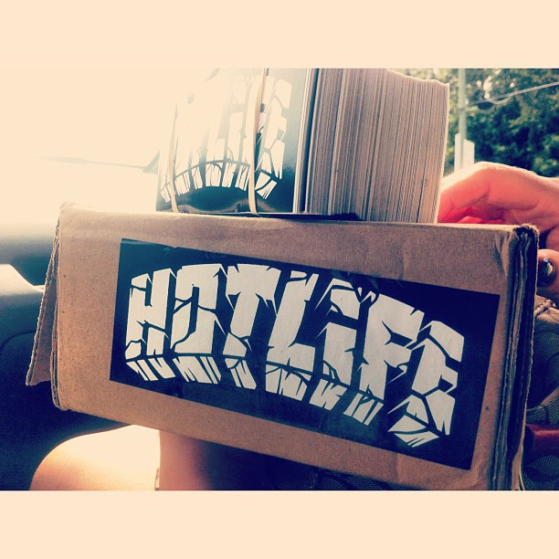 Brand new #HOTLIFE #stickers. All orders get lots of FREE collectable limited edition extras. Everything we make is on point. #independent #florida #streetwear #clothingbrand #designer #style #fashion #street #graffiti #illustration #art #rare #leaveyourmark #hotlifecrew #miami #orlando #stickers