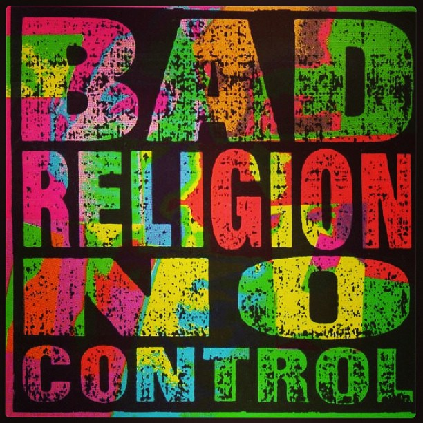 If you didn't know, now you know. #classic #badreligion #nocontrol #california #punk #hardcore #epitaph #oldschool #workmusic #music