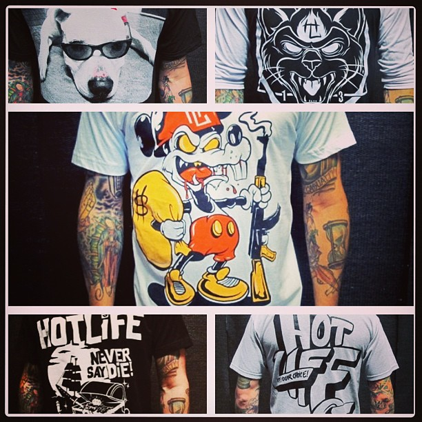 Stay original. Live the #HOTLIFE. ALL our gear is handmade from art to printing in #sunny #Florida. Support the underdogs and get something actually unique. 🔥 #HOTLIFEclothing #miami #orlando #clothingbrand #artwork #independent #illustration #streetwear #tattoos #mickey #disney #thegoonies #nyhc #americanbulldog #shirt #americanapparel #underdogs