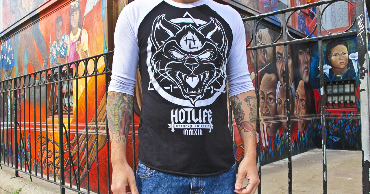 "We still have a few HOTLIFE ""BLACK CAT"" 3/4 Sleeves in stock. Grab one before they're gone for good. Ultra high quality, and too comfy."
