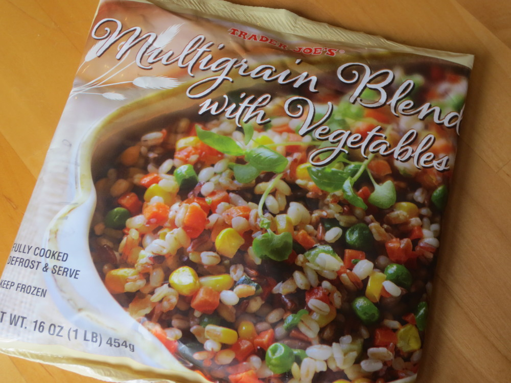 Multi-Grain Blend with Vegetables: $2.99 per 1 lb. bag (as of Nov 2013)  **shout out to my friend Max for telling me about this! :)