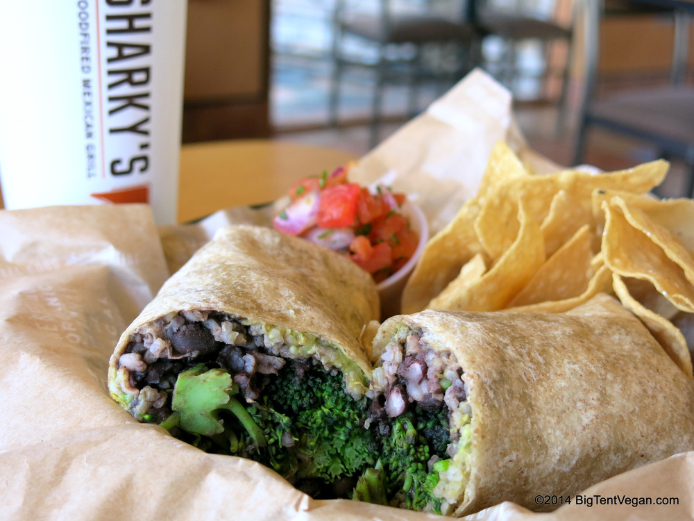 Secret Menu Item: The AJ Burrito at Sharky's Woodfired Mexican Grill